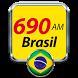 Radio Brasil AM 690 Radio do Brasil by moaiapps