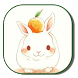 Cartoon rabbit Keyboard by live wallpaper collection