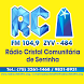 Rádio Cristal FM 104,9 by Rd Sat Hospedagem