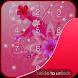 Girly Pink Lock Screen by Locker