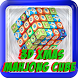 3d XMAS Mahjong Cube tile game by Aztech Films