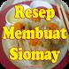 Resep cara membuat siomay