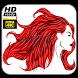 Paint Lady Hair