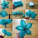 Flower Craft Tutorial by Putri Mustika
