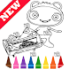 Learn Draw Coloring for Waybulu by Fans by Learn Draw Coloring Camps