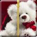Teddy Bear Zipper Lock Screen by Ch. Muhammad Ashfaq