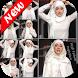 1000+ Bridal Hijab Tutorial by DIY GX Studio