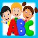 تعليم الحروف الإنجليزية لطفلك by appsKidsone