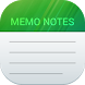 Memo Notes - Sticky Notepad by Gulewty