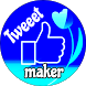 Fake Tweets, Tweet maker app by Rashidnk