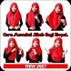 Cara Memakai Jilbab Segi Empat by ENHA Studio