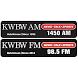 KWBW Radio, Hutchinson by Eagle Communications, Inc.