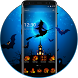 Halloween Ghost Night Pumpkin Theme by The Best Android Themes