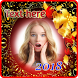 New year 2018 photo frame by Photo frame intira