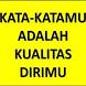 Kata Kata Sabar by Kim Oke