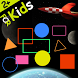 Shapes and Colors Space game by 0A1.EU
