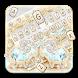 Golden Silver Diamond Lamb Keyboard