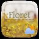Floret GO Weather Widget Theme by GO Dev Team X