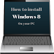 Learn to Install Computer Windows 8 by Kaminggi