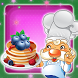 Pancake Cooking Chef by Smile Stones Studio