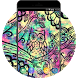 Galaxy Neon Theme:Cute Colorful Owl Live Wallpaper by Mobo Theme Apps Team