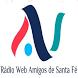 Rádio Web Amigos De Santa Fé by BRLOGIC