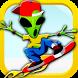 Hoverboard Rider Alien Stunts by topdevbros