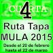 4ª Ruta de la Tapa Mula. 2015 by Nuevas Tecnologías Ayto de Mula