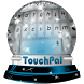 Icicles TouchPal Theme by Keyboard Emoji Themes