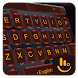 Neon Red Eva Keyboard Theme by Love Free Themes