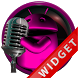 Poweramp Widget Pink Droid 5 by Maystarwerk Skins & Widgets Vol.2