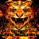 Frie Flaming Tiger Keyboard