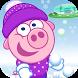 Snowball Fight - Alien Defense by Piggy Free