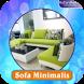 Desain Sofa Rumah Minimalis by Rafardhan