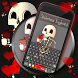 Skeletons Keyboard Theme by New Emojis Keyboard Themes