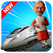 Modi Bullet Train Driving Simulator : Train games by Bajake Studios