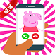Fake call From Pepa Pig by developers.app