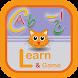 Learn Alphabet Game English by zafar khokhar
