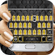 Keyboard - Fashion Rivets Free Emoji Theme