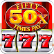 Slots Machine : Fifty Times Pay Free Classic Slots by SVIMS CODE