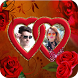 Rose Day Dual Photo Frame by Keshava App Labs