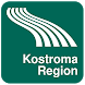 Kostroma Region Map offline by iniCall.com