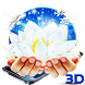 3D Magic Lotus Theme by 3dthemecoollauncher