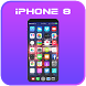 Theme for Apple iPhone 8 by SoftClickSolutions