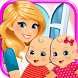 My Newborn Twins Baby & Mommy by Beansprites LLC