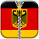 Germany Flag Zipper ScreenLock by 10/4 Entertainment