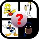 Guess All Cartoon Characters! by Quizzo