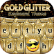 Gold Glitter Keyboard Theme by Thalia Ultimate Photo Editing