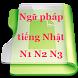 Ngữ pháp tiếng Nhật N1,N2,N3 by vnkaapps