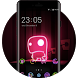 Neon Lights Theme: Cute Monster Live Wallpaper by Mobo Theme Apps Team